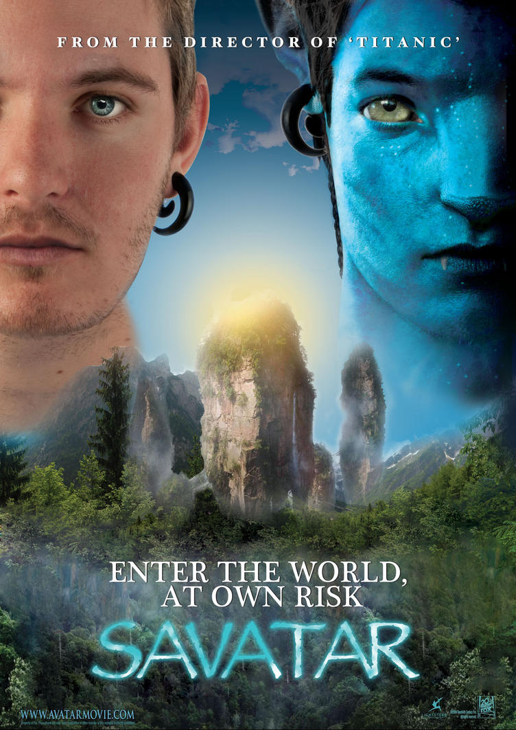 Avatar Poster remake 'Savatar' by the-Ham on DeviantArt