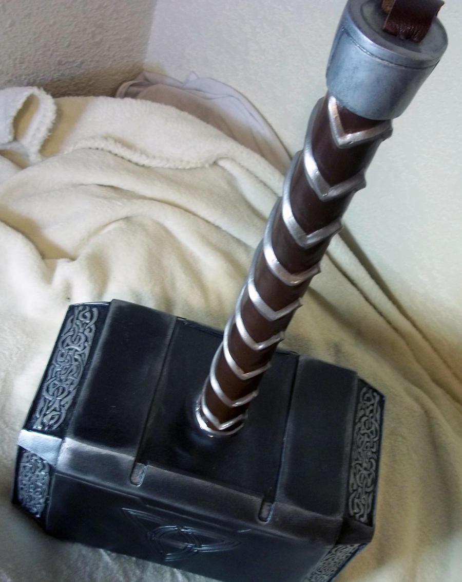 avenger style thor hammer 2 by nmtcreations on deviantart