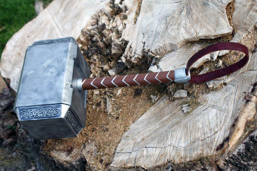 avengers thor hammer 2012 a by nmtcreations on deviantart