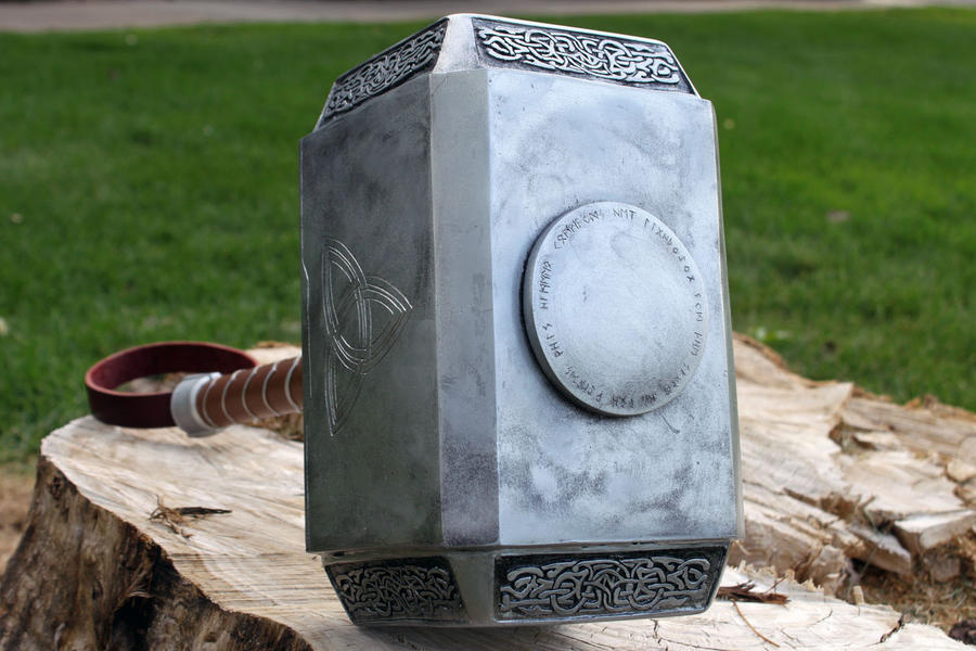 avengers thor hammer 2012 b by nmtcreations on deviantart