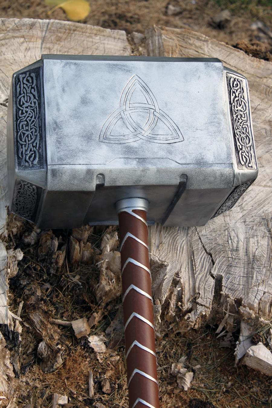 avengers thor hammer 2012 d by nmtcreations on deviantart