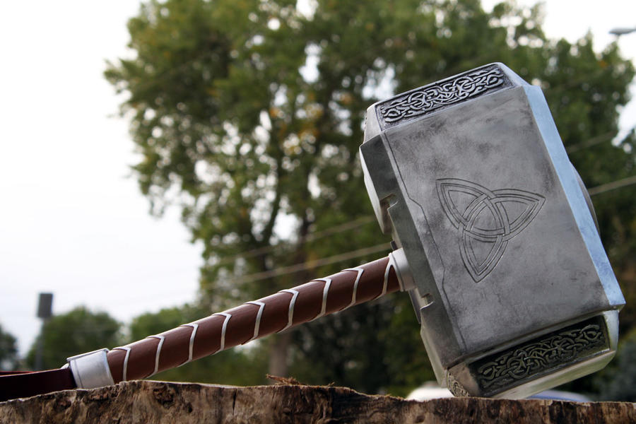 avengers thor hammer 2012 f by nmtcreations on deviantart