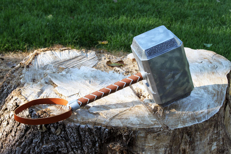 avengers thor hammer 2012 g by nmtcreations on deviantart