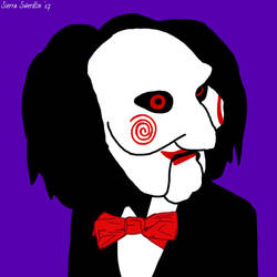 Billy The Puppet DIGITAL PAINTING by Swerdsi