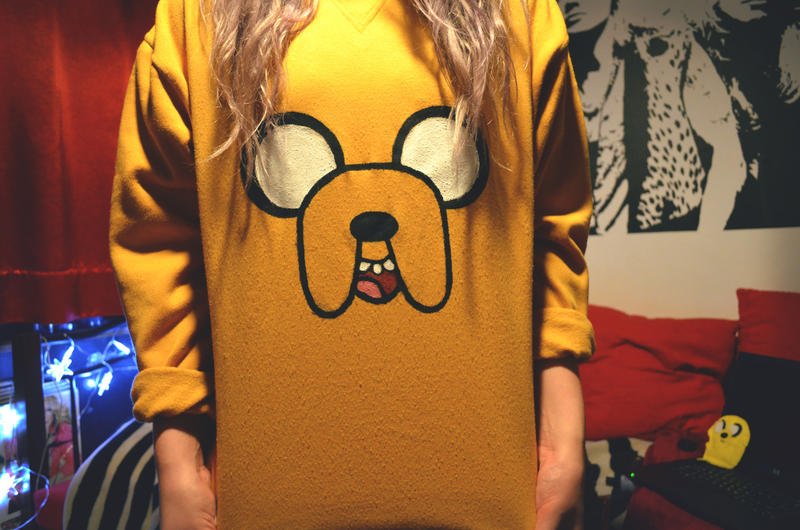 Adventure Time Jake the Dog Hoodie