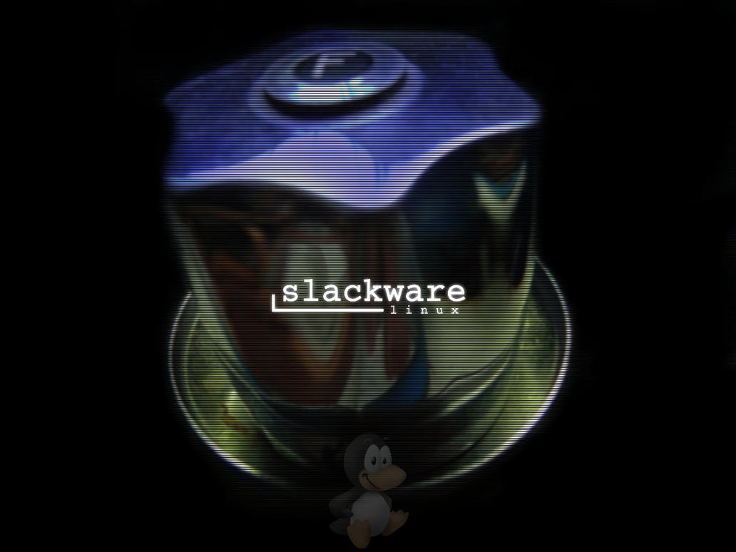 slackware wallpaper by myReality
