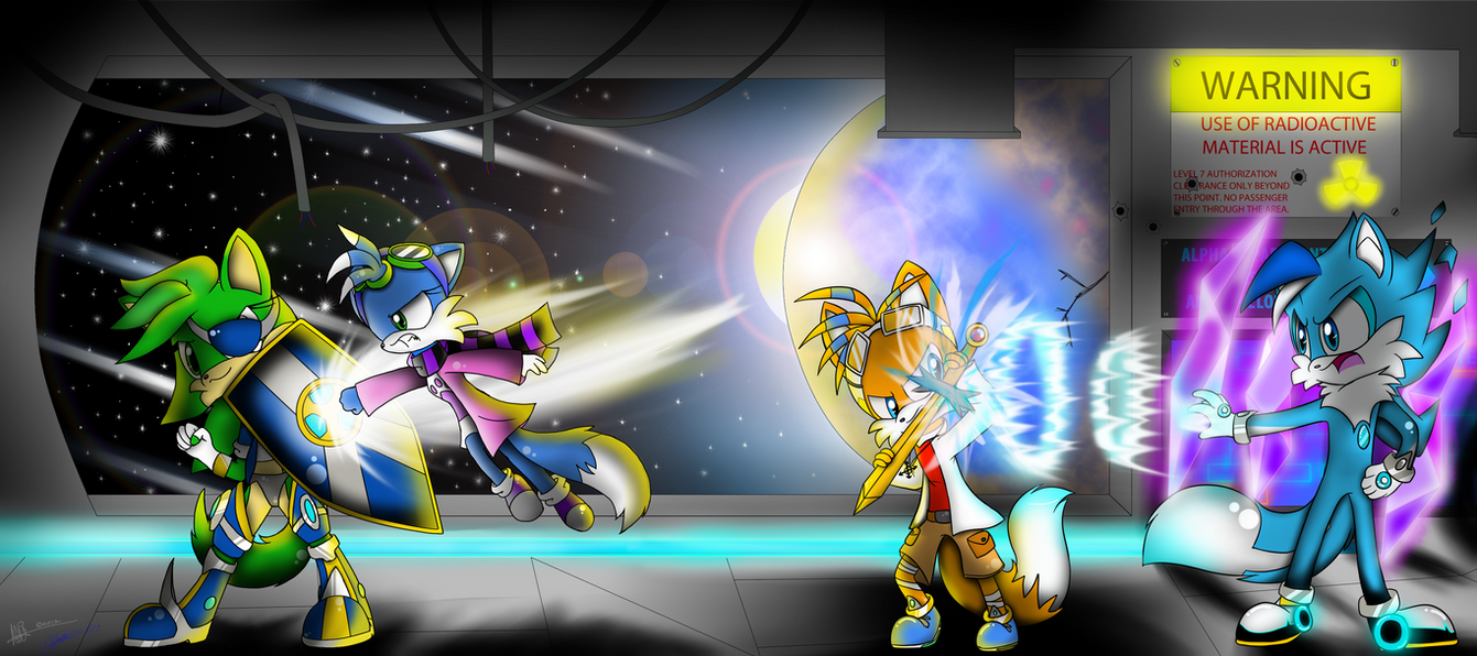 CE: GALACTIC ENCOUNTER By Zack-the-Fox-360 On DeviantArt