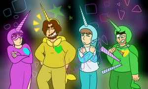 Game Grumps   Starwhal [redraw yay]
