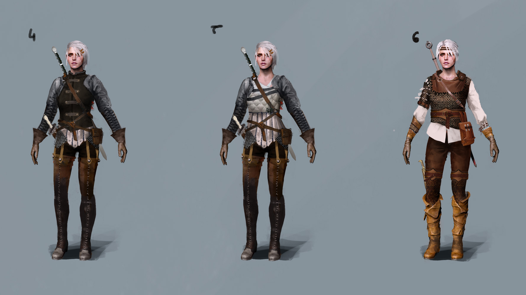Alternate Look for Ciri was on Xbox Live ( Now gone?l