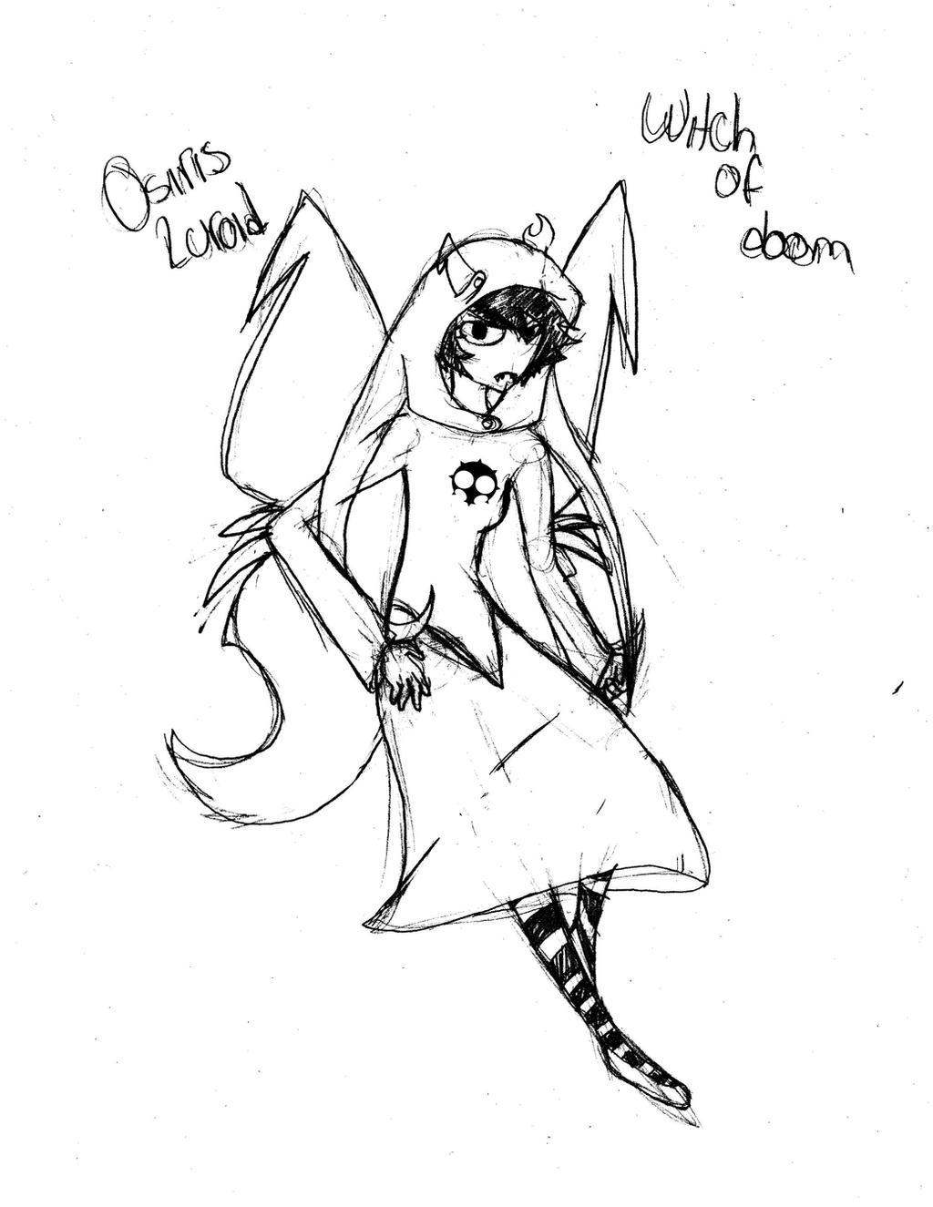 Witch of Doom by Shiiruba