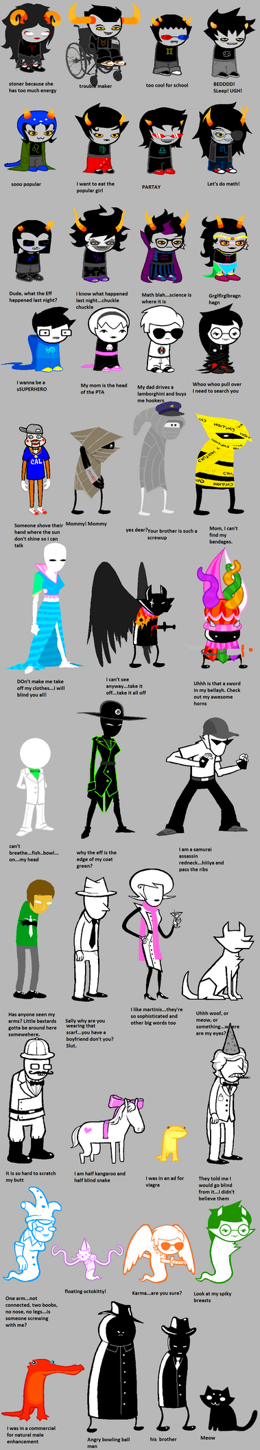 Homestuck According To My Dad... by Shiiruba