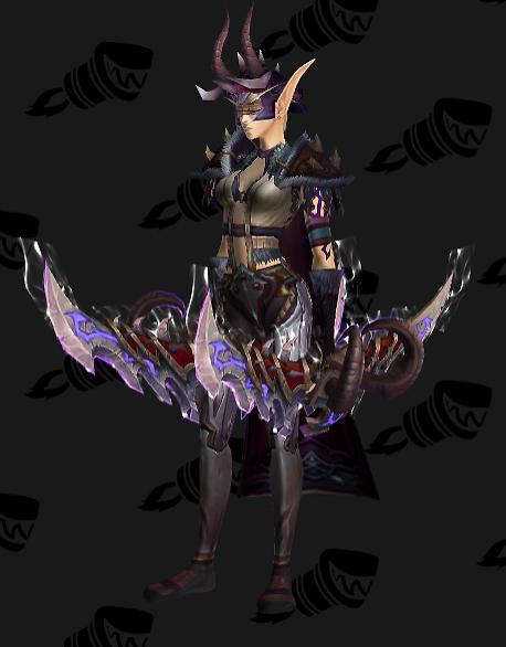 Demon Hunter Artifact Transmog Set Legion 2 Wow By