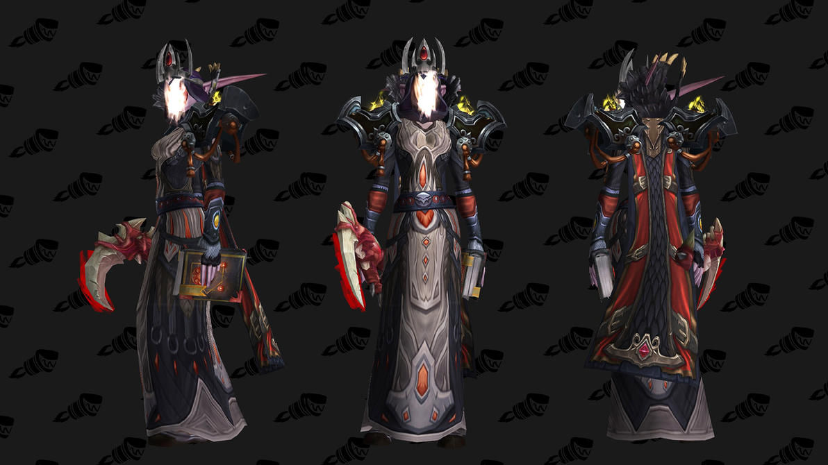 Shadow Priest Artifact Transmog Set Legion 2 Wow By
