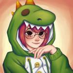 [Dinosaur] Art trade: Brook Steven