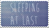 sleeping at last stamp by littledoge