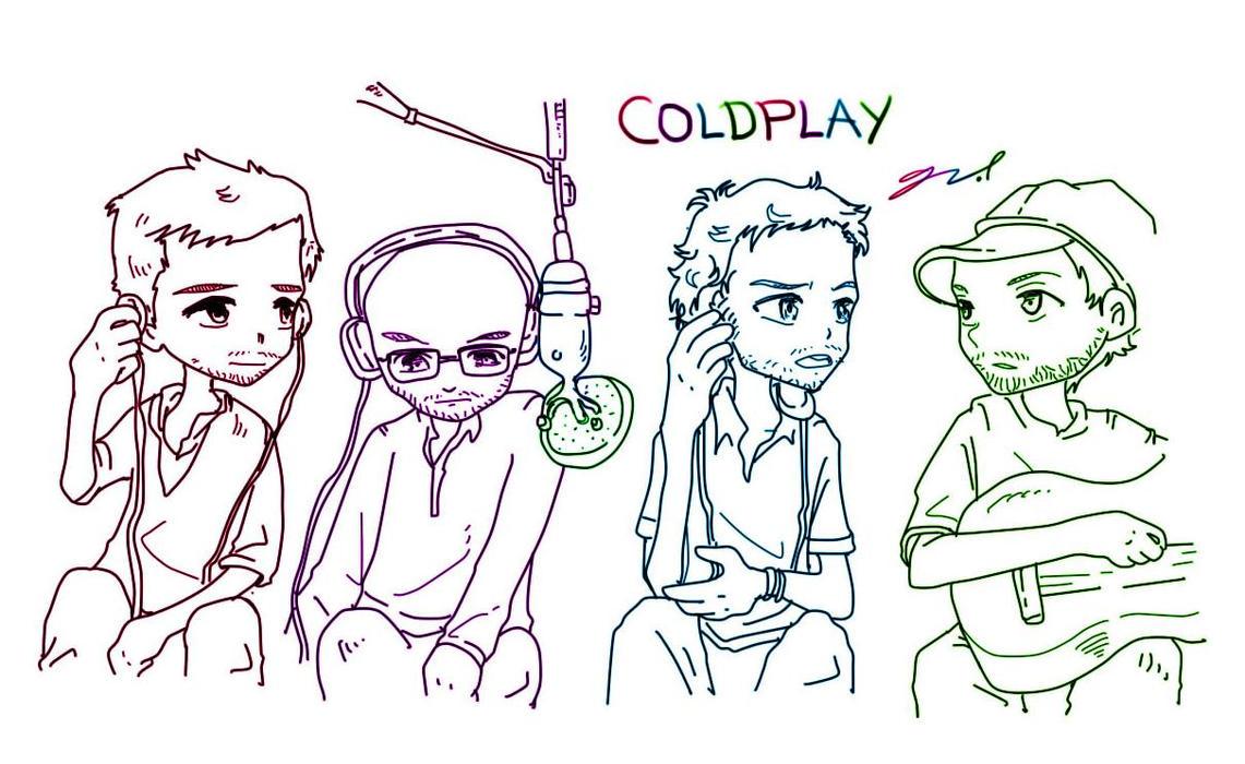 Coldplay by GRLEE