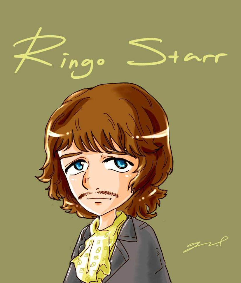 Ringo Starr by GRLEE