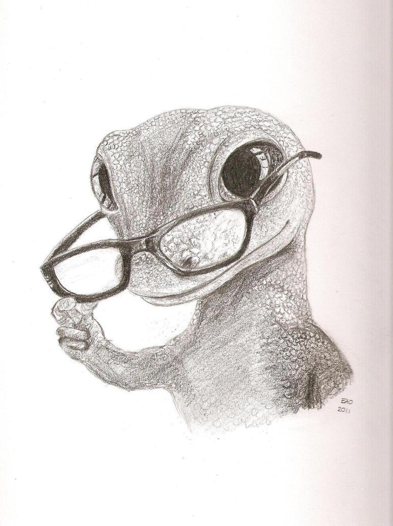 the gecko by squirrelgirl15 on deviantart