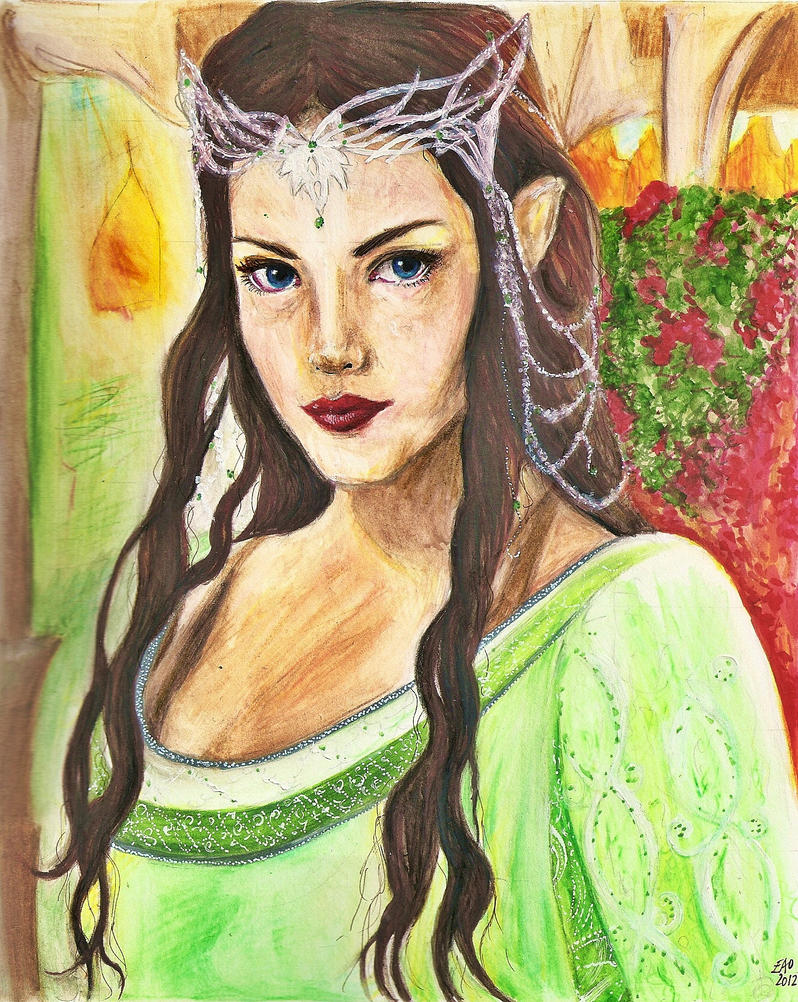 Arwen by SquirrelGirl15