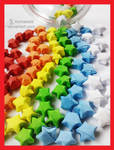 Colorful Lucky Stars