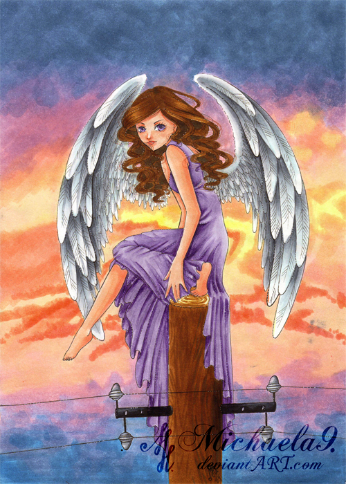 Angel's Sunset by Michaela9