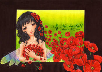 .: Poppy Fairy :. by Michaela9