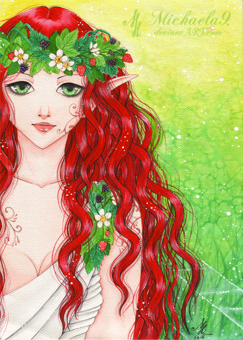Forest Fairy by Michaela9