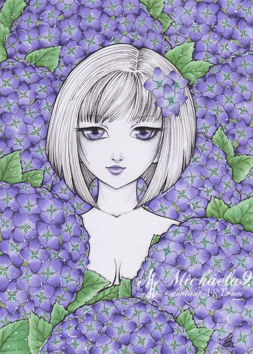 Hydrangea by Michaela9