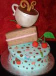 Sweet Fondant Cake