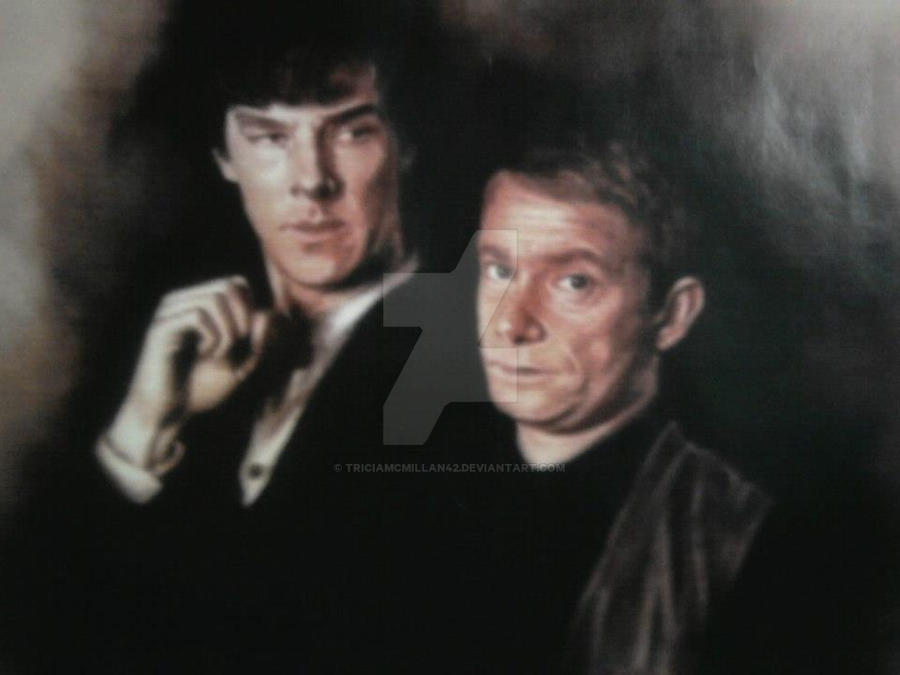 Sherlock and John by TriciaMcMillan42