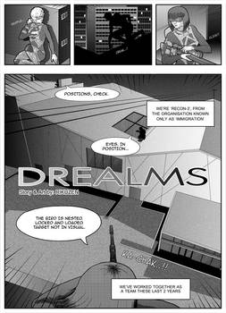 Drealms - pg.01 (One Shot for Shonen competition)
