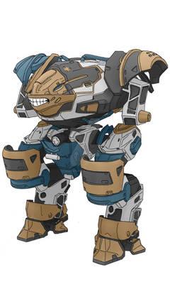 War Robots - Inquisitor Paint Job Contest