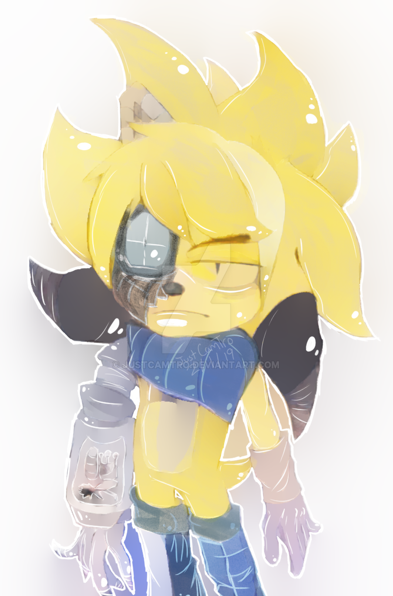 Unknown Cyborg Hedgehog