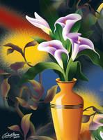 Flower Arrangement-3 by satishverma