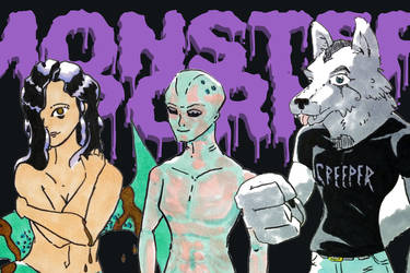 Monster Porn Group Header
