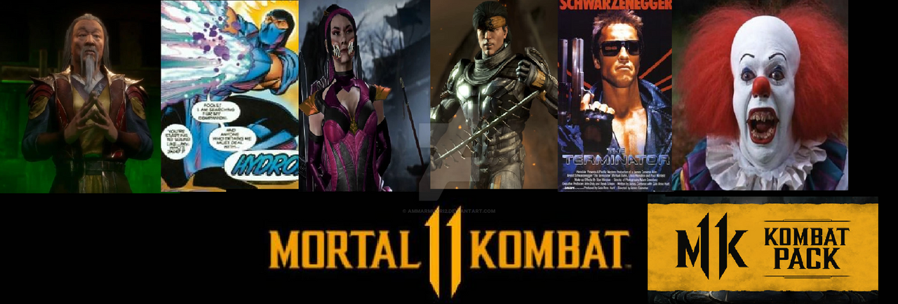 MK11 Kombat Pack! By Ammarmuqri2 On DeviantArt