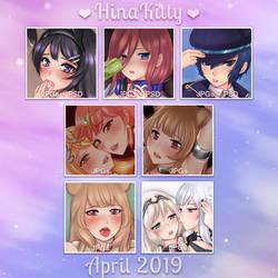 2019 April Rewards