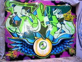 Graffiti by ReggaeRebel