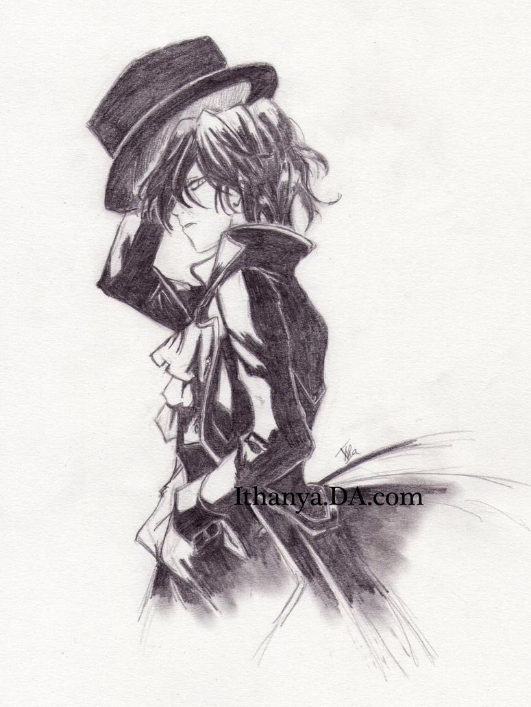 Raven, Pandora Hearts by Ithanya