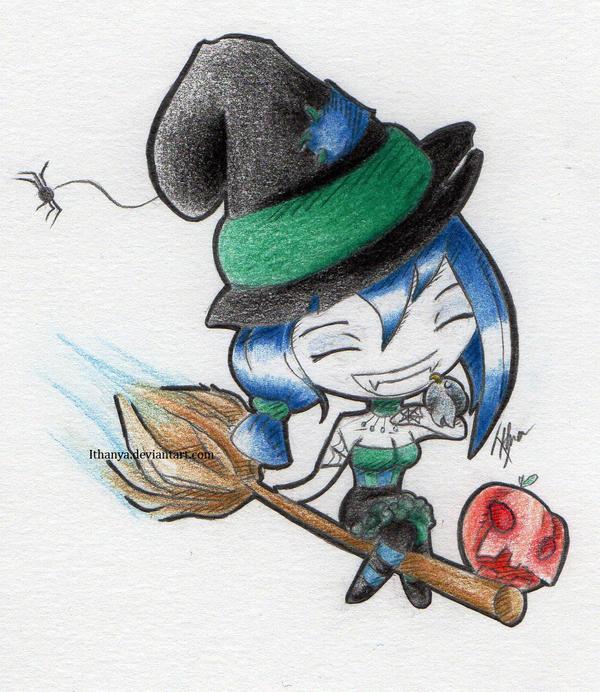 Happy Halloween ! by Ithanya