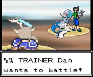PKMN TRAINER Dan wants to battle! by MRdrawordie3