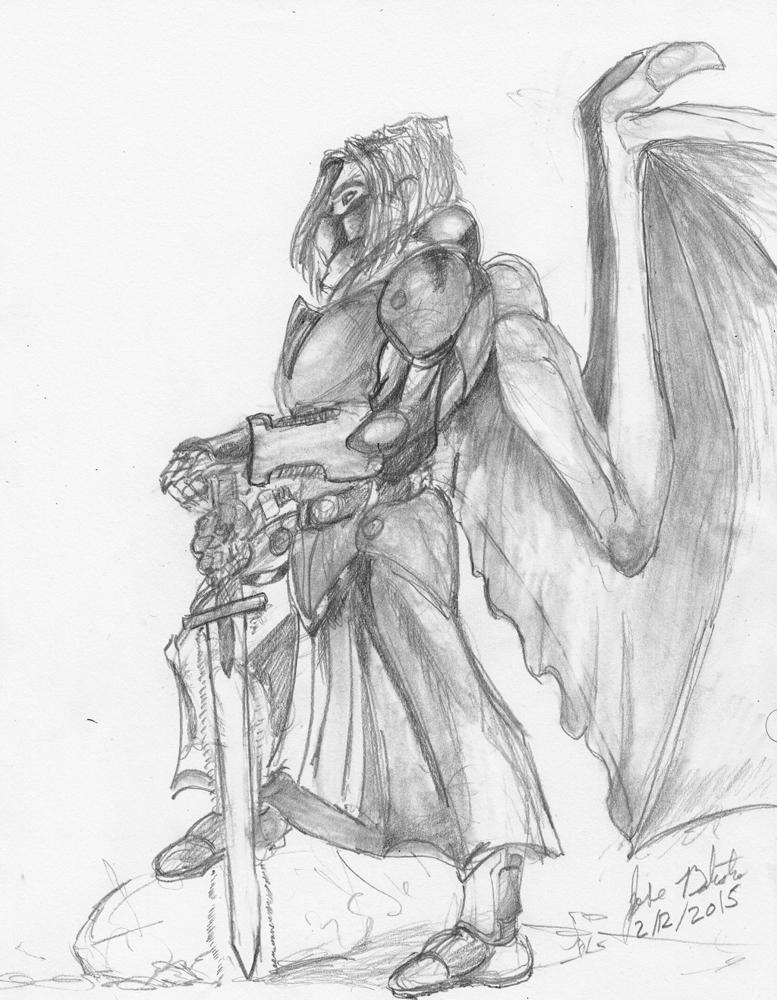 Dragon Warrior Miguel Magus by JoseMiguelBatistajr