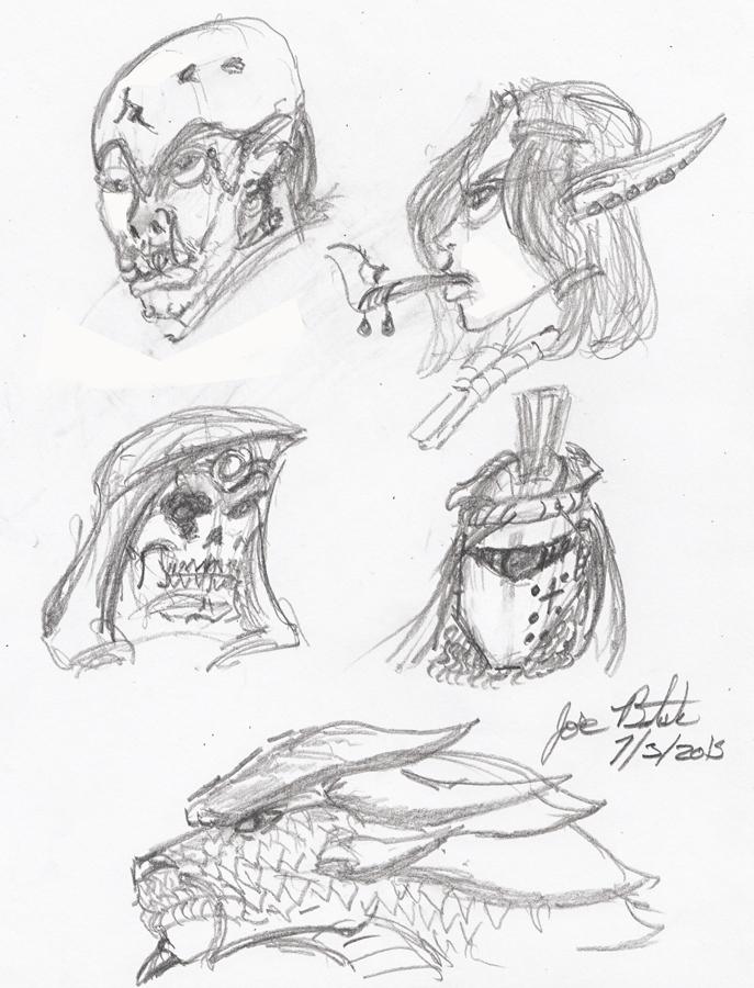 Fantasy Headshots by JoseMiguelBatistajr