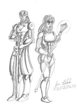 Devastator and Kylenne