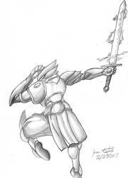 Paladin Tormenta: Storm Blade