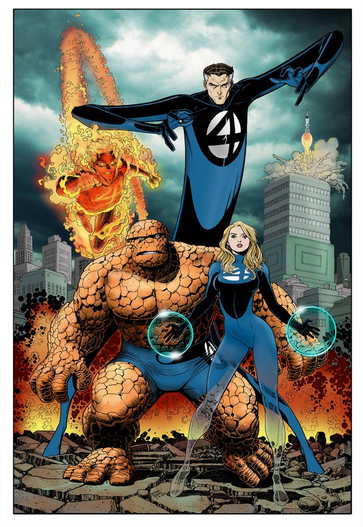 Fantastic Four Color by RixxJavix