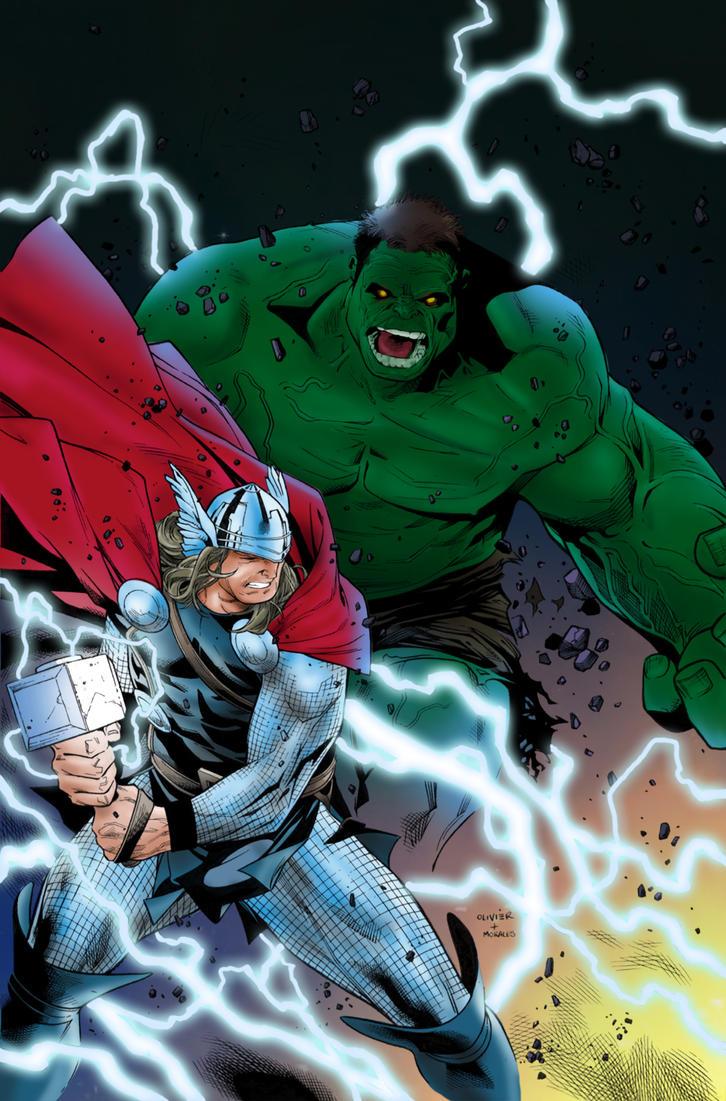 Hulk Variant Five by RixxJavix