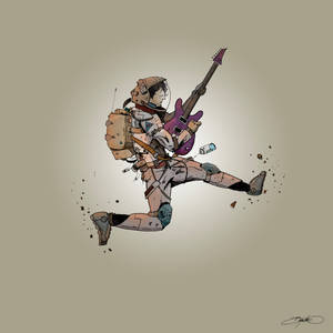 Astronaut Guitar