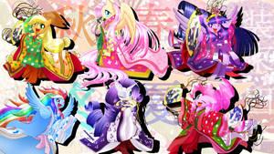 Juni Hitoe Ponies!