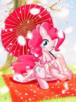 SAKURA - Pinkie Pie by PhoenixPeregrine